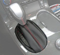 C6 CORVETTE Leather or Suede AUTO SHIFT BOOT W/ Color Stitching