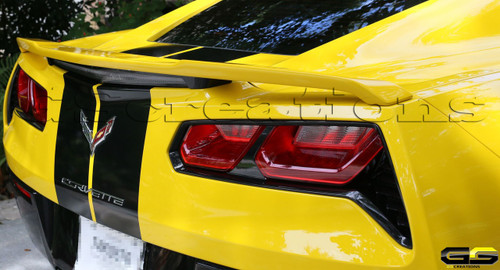 C7 Corvette High Wing Spoiler Gscreations