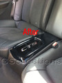 Cadillac CTS & CTS-V Coupe Cup Holder Cover WITH Embedded CTS Emblem