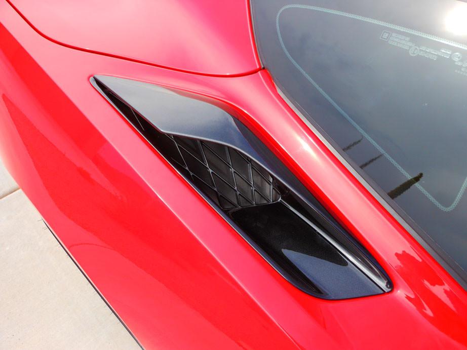 C7 Corvette Rear Vents