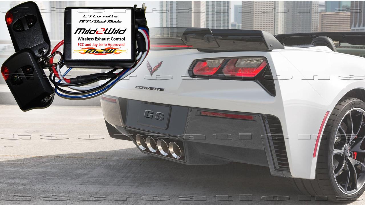 C7 Corvette MILD2WILD NPP Wireless Exhaust Switch Grand Sport , Z06 M2W