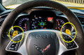 C7 Stingray Corvette Steering Wheel Paddles RED OR YELLOW
