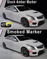 2016-2017 Cadillac ATS-V Side Markers Clear or Smoked