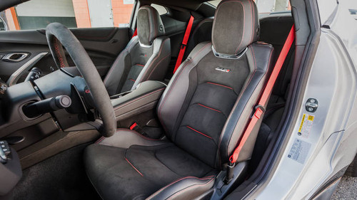 2016+ Camaro Gen 6 ZL1 Red Seat Belt Kit - GScreations