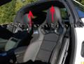 C7 Stingray Z06 Grand Sport Corvette Black Suede Headlining Trim Roof Panel