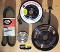 C7 Z06 Corvette LT4 Balancer and Supercharger Pulley Kit