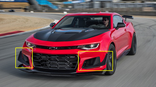 6th Gen Chevrolet Camaro OEM Zl1 1le Dive Plane Package ...