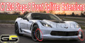 2015-2018 C7 Corvette GM C7 Z06 Stage 3 Front Splitter Extensions