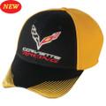 C7 CORVETTE RACING SHARP RIDE Yellow Base Ball CAP HAT
