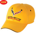 C7 CORVETTE RACING SANDWICH Yellow Base Ball CAP HAT