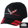 C7 Corvette Grand Sport Hash Marks Base Ball CAP HAT