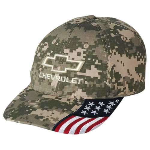 CHEVROLET FREEDOM DIGITAL CAMO Base Ball CAP HAT - GScreations 273f2b65e80