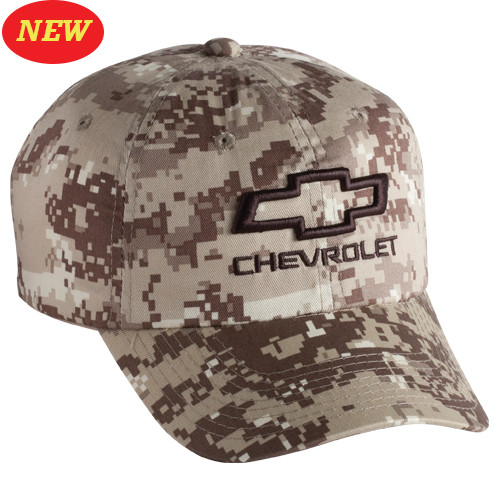 3-D CHEVROLET OPEN BOWTIE DIGITAL CAMO Base Ball CAP HAT - GScreations 61dd5807630