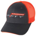 6th Gen 6 Camaro 50 ( FIFTY) Neon MeshBack Base Ball CAP HAT