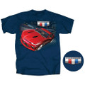 6th GEN Camaro RED Generation Six Tee T-Shirt (Discontinued)