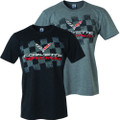 C7 Stingray / Z06 Corvette Racing Tee T-Shirt Black Cotton