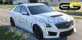 2016+ Cadillac CTS-V Carbon Fiber Rocker Panels (Side Skirts)