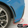 C7 Corvette Stingray Carbon Flash or Hydro Carbon fiber Rear Fascia Extensions