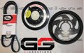 2016-2019  ZL1 Camaro LT4 Balancer and Lower Supercharger Pulley KIT