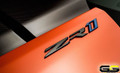 ZR1 Corvette C7 Side Hood / Rear Bumper Emblem Black OR Chrome
