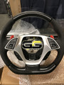 C7 Corvette Steering Wheel Suede or Leather with exposed Carbon Fiber
