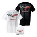 C6 Corvette 60th anniversary LOGO Lightweight Tee T-Shirt 100% Pre-shrunk cotton