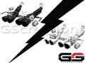 C7 Corvette Magnaflow Axle-Back Competition Series Exhaust System