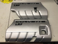 C6 LS3 Corvette Painted Color Coded GM FUEL RAIL COVERS WA8867 Ultra Silver