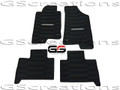 2006-2010 Hummer H3 H3T GM Front & Rear All Weather Floor Mats Black