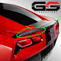 C7 Corvette Z51 or SB3 High Wing Wicker Bill Spoiler Kit
