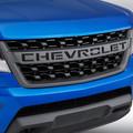 2018 Colorado Grille Black Chevrolet Script