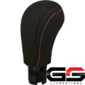 2012-2015 Chevrolet Camaro Genuine GM Suede Manual Shift Knob Red Stitching