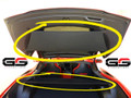 2014+ C7 Corvette Stingray Z06 Grand Sport ZR1 GM OEM CARGO SECURITY SHADE