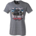 Chevy Colorado Pickup Truck Ultimate Machine ZR2 Tee T-Shirt Heather Gray Cotton