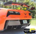 C7 Corvette ZR1 LT5 OEM GM ZTK High Wing Spoiler Brackets Only