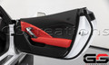 C7 Stingray Z06 Grand Sport ZR1 Corvette Adrenaline Red Passenger Door Trim Panel V2