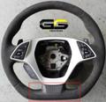 C7 Corvette Stingray Flat Bottom Steering Wheel Bottom Cap Options