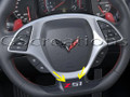 C7 Corvette Z51 or Z06  Steering Wheel Decals