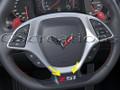 C7 Corvette Z51 or Z06  Steering Wheel Decals