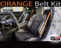 2016+ 6th Gen Camaro Orange Seat Belt Kit