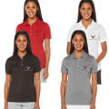 Next Generation C8 2020 Corvette Callaway Dry Core Polo Top LADIES Shirt