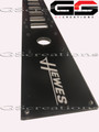 Large Hewes Flats Fishing Boat Switch Plate ** Bilge, Livewell, Anchor, Nav Trim Tabs