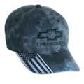 Chevrolet Bowtie American Flag Kryptek Base Ball Cap Hat