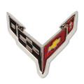 2020 C8 Corvette Next Generation Corvette Flag Lapel Pin