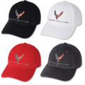 Next Generation C8 Corvette Premium Garment Washed Base Ball Cap Hat