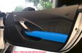 C7 Stingray Z06 Grand Sport ZR1 Corvette Tension Blue Passenger Door Trim Panel