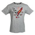 Next Generation C8 Corvette 8 Generations Badge Men's Tee Shirt T-Shirt