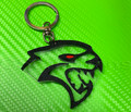 Dodge Hellcat SRT Keychain with Custom Eye Colors
