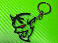 Dodge Demon SRT Keychain with Custom Eye Colors