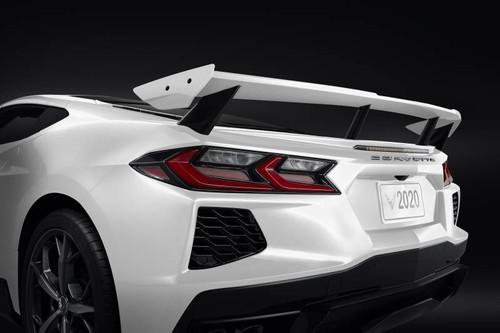 Dodge Demon Colors >> C8 Corvette High Wing Spoiler In Arctic White - GScreations
